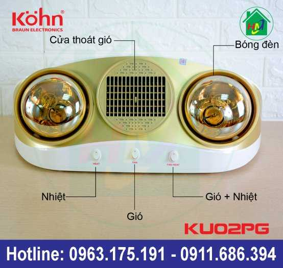 Sưởi Nhà Tắm Kohn Ku02pg3