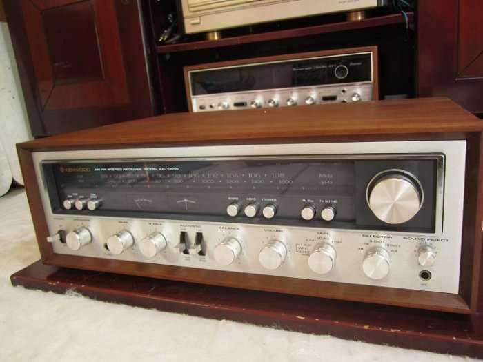 Ampli Kenwood 7600