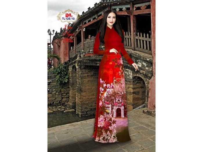 Vải áo dài lụa ngọc mai cao cấp TL 125-100