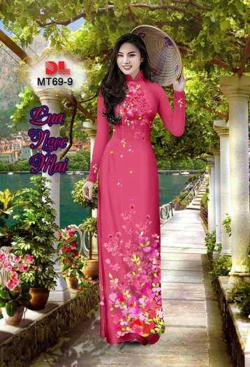 Vải Áo Dài Mt69 - Vải Áo Dài Lụa Ngọc Mai Cao Cấp14