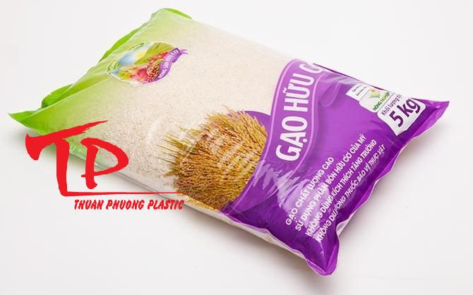 Bao bì đựng gạo 5kg, 10kg, 25kg, 50kg giá rẻ0