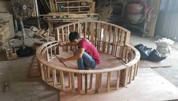 Giá giường tròn khách sạn, kích thước giường tròn công chúa tại cần thơ18