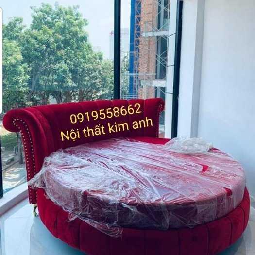 Giá giường tròn khách sạn, kích thước giường tròn công chúa tại cần thơ15