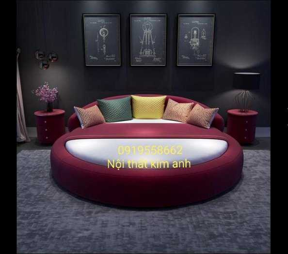 Giá giường tròn khách sạn, kích thước giường tròn công chúa tại cần thơ12