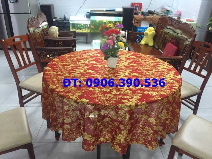 Khăn Trải Bàn Cho Nhà hàng Lưu Động, Quán Nhậu Bình Dân3