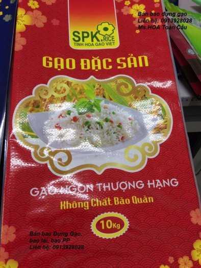 Bao PA/PE đựng gạo 1kg, 2kg, 5kg xuất khẩu0