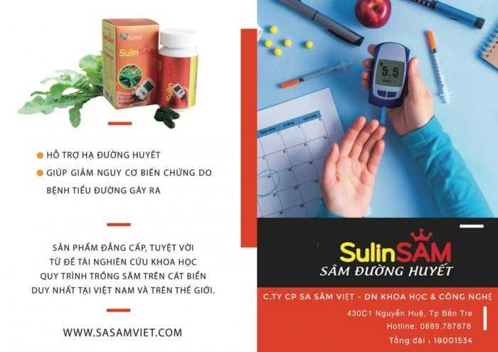 Hạ đường huyết - SULIN SÂM (Tiểu đường)0