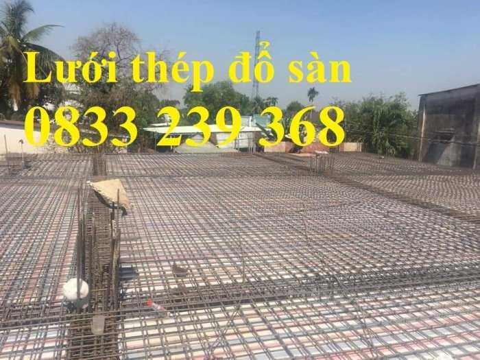 Lưới thép đổ sàn bê tông phi 6 ô 150x150, 200x200, 250x250 làm theo đơn đặt hàng, giao hàng 3 ngày7