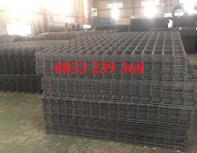 Lưới thép đổ sàn bê tông phi 6 ô 150x150, 200x200, 250x250 làm theo đơn đặt hàng, giao hàng 3 ngày6
