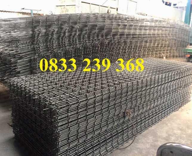 Lưới thép đổ sàn bê tông phi 6 ô 150x150, 200x200, 250x250 làm theo đơn đặt hàng, giao hàng 3 ngày5