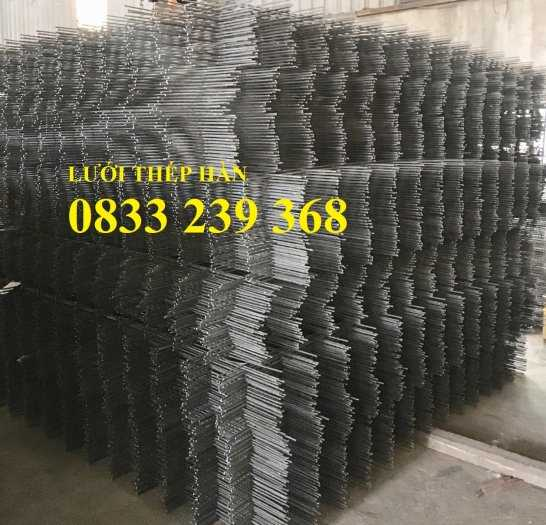 Lưới thép đổ sàn bê tông phi 6 ô 150x150, 200x200, 250x250 làm theo đơn đặt hàng, giao hàng 3 ngày2