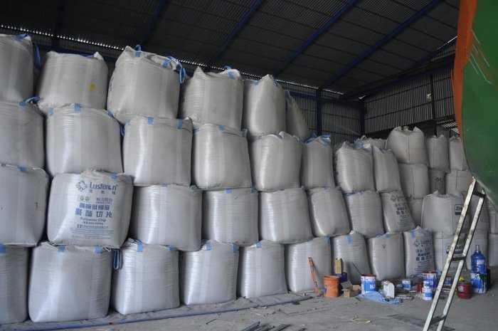 Bao jumbo, bao 1 tấn ống nạp đáy xả, bao jumbo nắp đậy có sẵn tại kho tái sử dụng được nhiều lần0