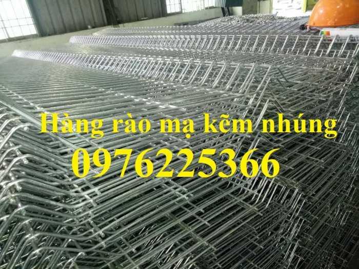 Hàng rào lưới thép mạ kẽm nhúng nóng, lưới thép hàn mạ kẽm7