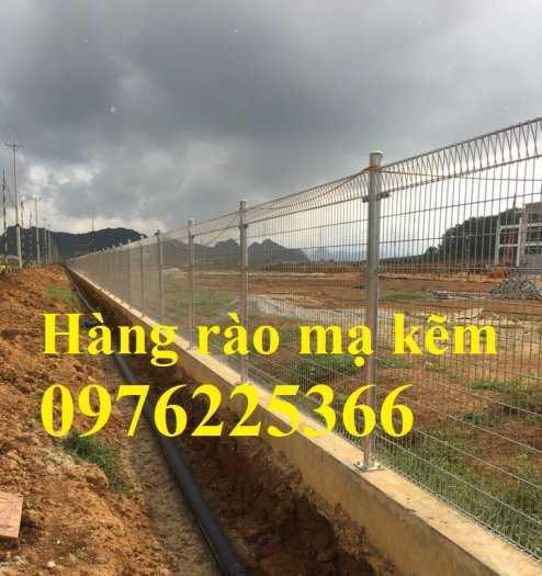 Hàng rào lưới thép mạ kẽm nhúng nóng, lưới thép hàn mạ kẽm2