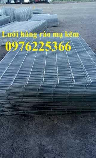 Hàng rào lưới thép mạ kẽm nhúng nóng, lưới thép hàn mạ kẽm1