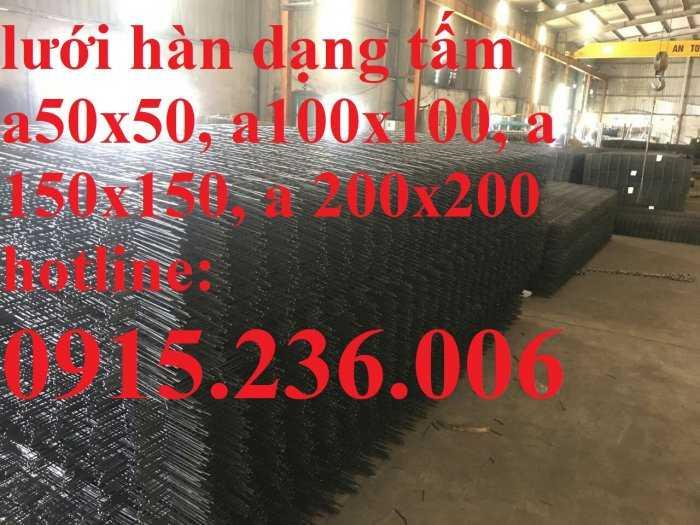 Lưới thép hàn D4 a(50x50), a(100x100), a(150x150), a(200x200) luôn sẵn kho3