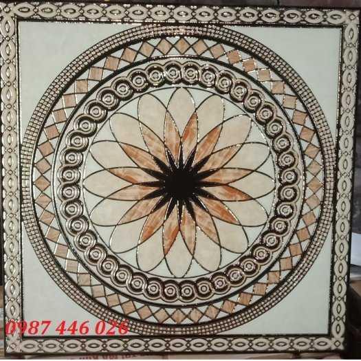 Gạch cầu thang, gạch hoa văn trang trí 60x60cm