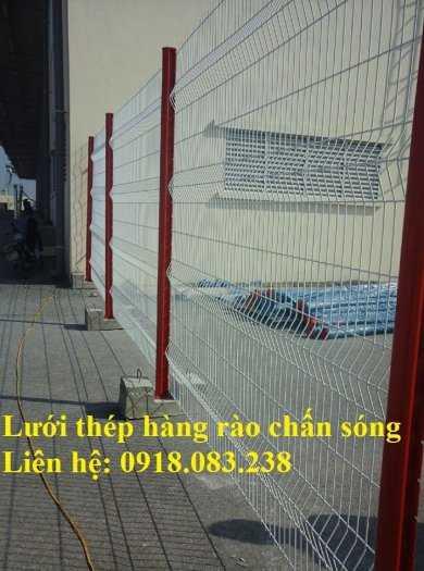 Hàng rào mạ kẽm sơn tĩnh điện, hàng chấn sóng D5, D6, D7,...2