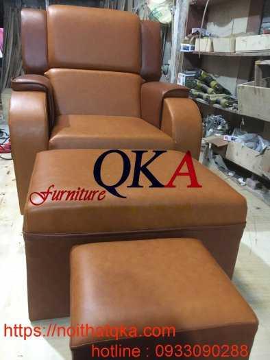 Mẫu ghế massage chân bọc da2