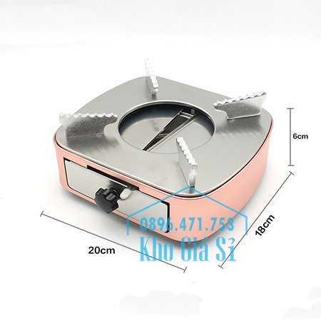 Bán bếp cồn inox cao cấp màu hồng có ngăn kéo đựng cồn - Bếp cồn khô màu hồng cho nhà hàng khách sạn10