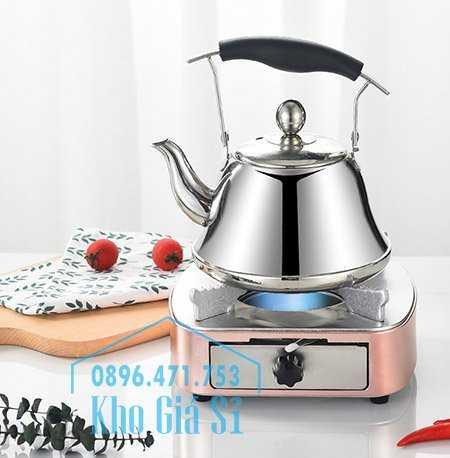 Bán bếp cồn inox cao cấp màu hồng có ngăn kéo đựng cồn - Bếp cồn khô màu hồng cho nhà hàng khách sạn8