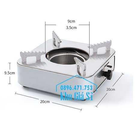 Cung cấp bếp cồn inox hình vuông màu bạc có ngăn kéo đựng cồn cho nhà hàng, quán ăn, resort