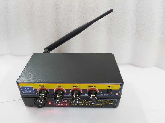 Bộ giải mã âm thanh Optical - D.I,Y Blueooth 5.0 & nâng tiếng5