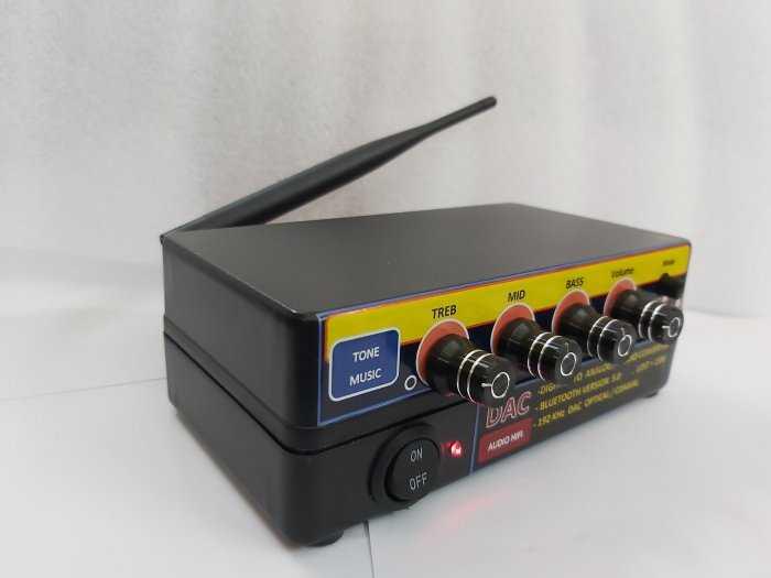 Bộ giải mã âm thanh Optical - D.I,Y Blueooth 5.0 & nâng tiếng4