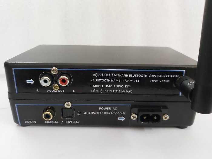 Bộ giải mã âm thanh Optical - D.I,Y Blueooth 5.0 & nâng tiếng3
