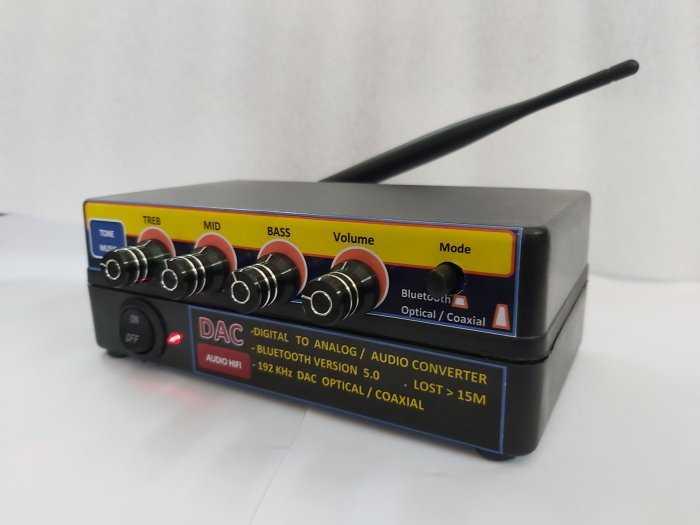 Bộ giải mã âm thanh Optical - D.I,Y Blueooth 5.0 & nâng tiếng0