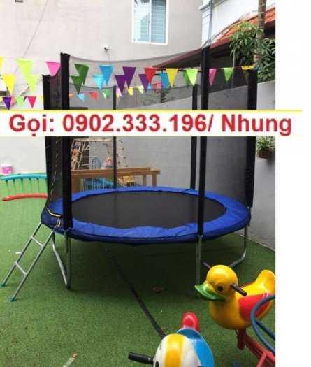 Nơi cung cấp sàn nhún khu vui chơi trẻ em, bạt nhún vận động cho bé4