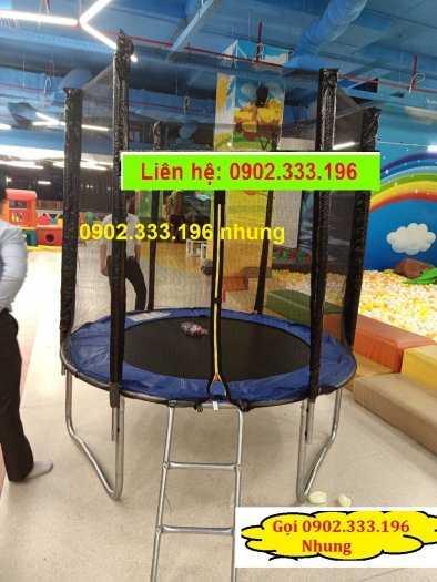 Nơi cung cấp sàn nhún khu vui chơi trẻ em, bạt nhún vận động cho bé2