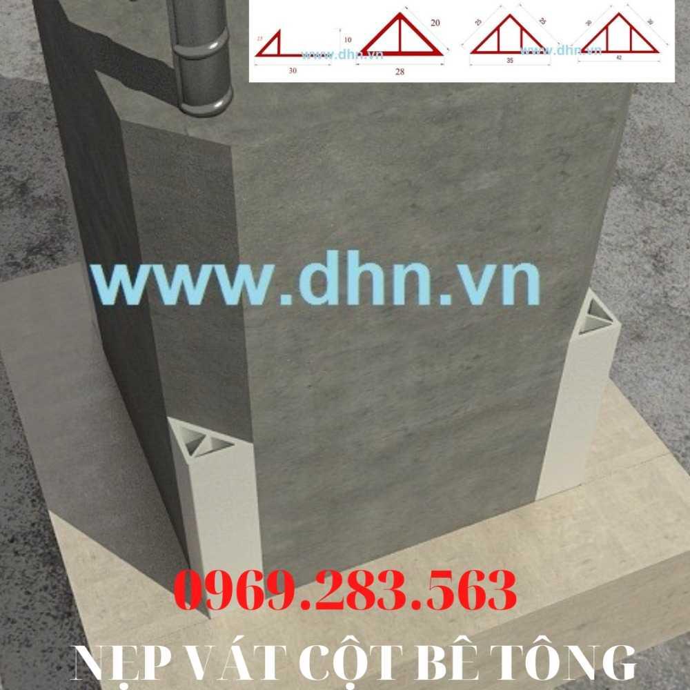 Nẹp vát góc cột  - Chamfer - Nẹp vát cạnh cột - Nẹp vát góc bê tông4