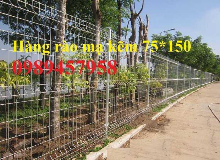 Gia công Hàng rào mạ kẽm sơn tĩnh điện phi 5, Lưới hàng rào nhà xưởng, Hàng rào nhà xe1