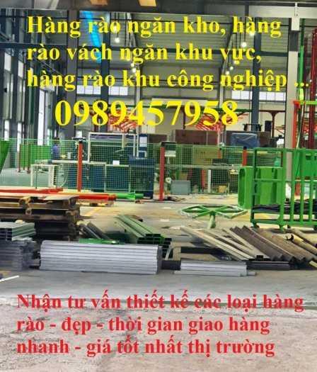 Gia công Hàng rào mạ kẽm sơn tĩnh điện phi 5, Lưới hàng rào nhà xưởng, Hàng rào nhà xe0