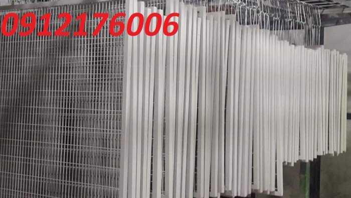Hàng rào lưới thép hàn D5 a 50x150, 50x200 mạ kẽm sơn tĩnh điện.4