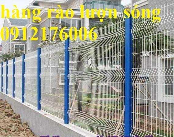 Hàng rào lưới thép hàn D5 a 50x150, 50x200 mạ kẽm sơn tĩnh điện.0