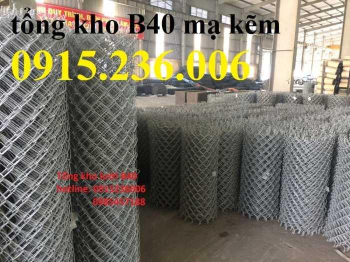 Lưới B40 mạ kẽm, Lưới B40 thép đen, Lưới B40 bọc nhựa 3ly, 4ly, hàng mạ hàng sẵn kho