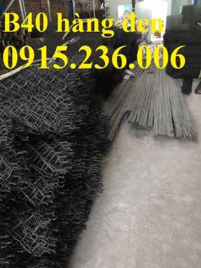 Lưới B40 mạ kẽm, Lưới B40 thép đen, Lưới B40 bọc nhựa 3ly, 4ly, hàng mạ hàng sẵn kho4