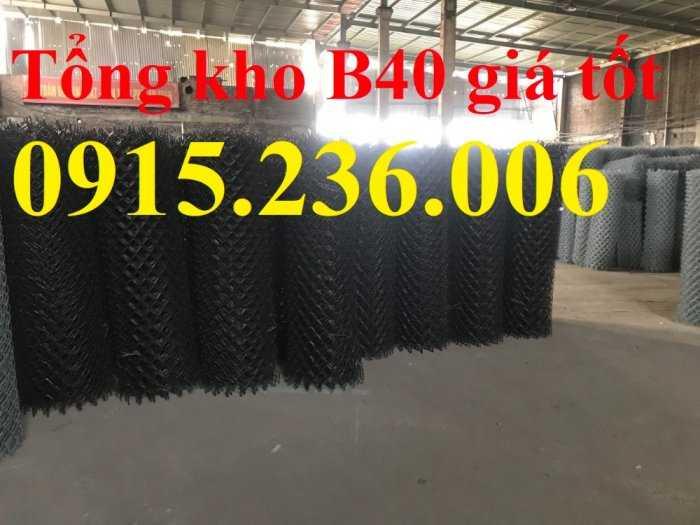 Lưới B40 mạ kẽm, Lưới B40 thép đen, Lưới B40 bọc nhựa 3ly, 4ly, hàng mạ hàng sẵn kho1