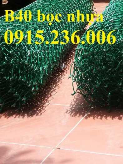 Lưới B40 mạ kẽm, Lưới B40 thép đen, Lưới B40 bọc nhựa 3ly, 4ly, hàng mạ hàng sẵn kho0