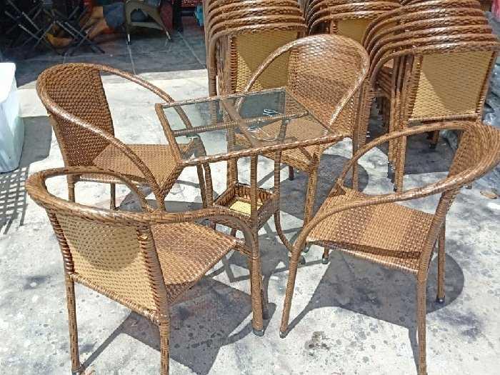 Bàn ghế cafe giá sỉ tại xưởng sản xuất1