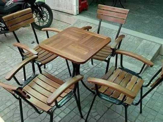 Bàn ghế cafe giá sỉ tại xưởng sản xuất3