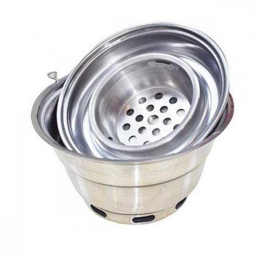 Giảm giá bếp nướng than hoa  không khói đặt âm bàn hàn Quốc hút dương3
