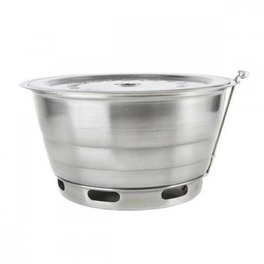 Giảm giá bếp nướng than hoa  không khói đặt âm bàn hàn Quốc hút dương2