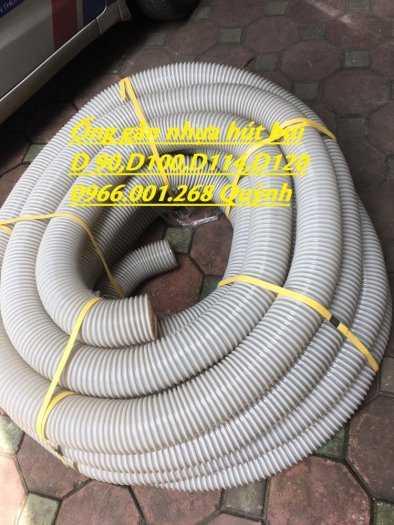 Ống hút bụi gân nhựa phi 100,phi 114,phi 120,phi 150 ống thông gió ,hút bụi3
