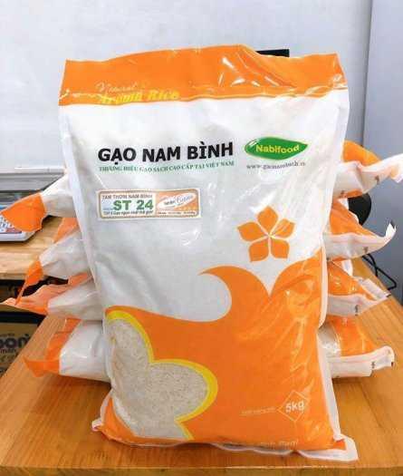 Bao đựng gạo 5kg - 10kg  có quai xách0