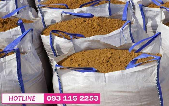 Bao jumbo 1 tấn xuất khẩu, lưu kho hàng hóa, bao đóng cát công trình các loại5