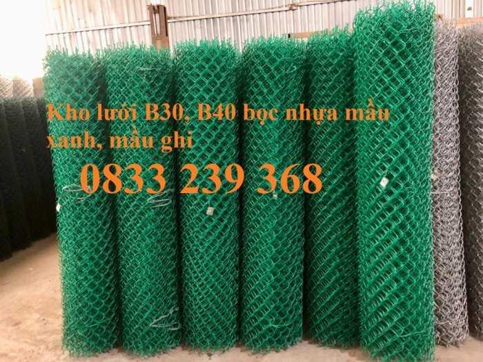 Lưới thép B40 mạ kẽm và bọc nhựa ô 50x50, 60x60 khổ 2m, 2,2m5