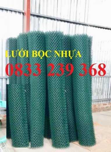 Lưới thép B40 mạ kẽm và bọc nhựa ô 50x50, 60x60 khổ 2m, 2,2m1